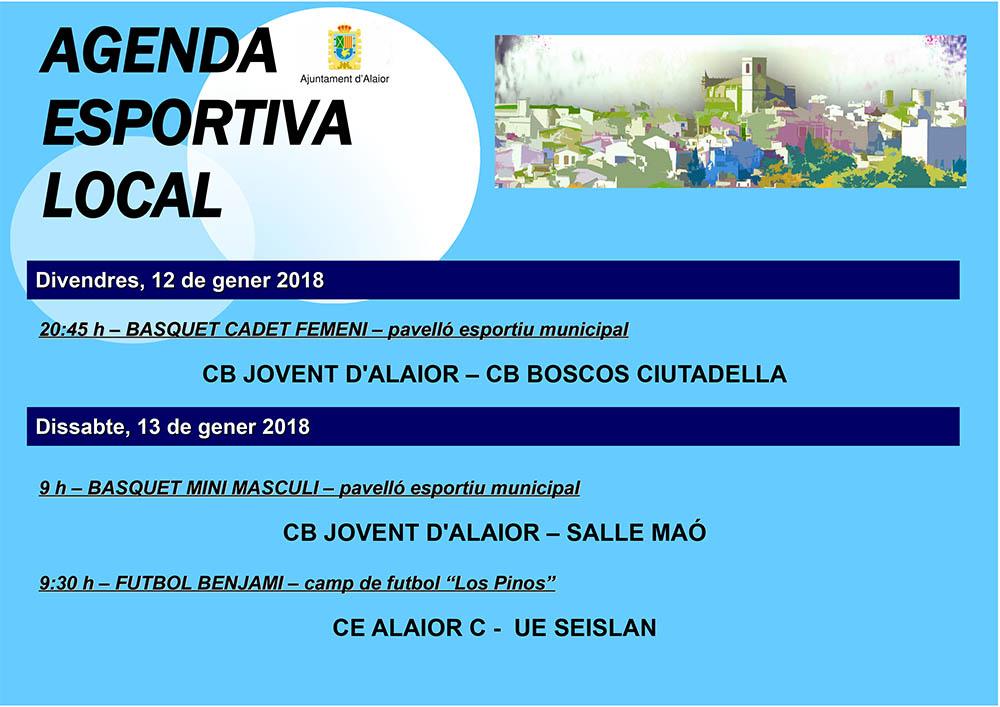 Agenda Esportiva d'Alô