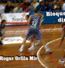 """Bloqueig directe / Roger Orfila Mir """"Es pot compaginar bàsquet i estudis sí t'administres bé"""""""