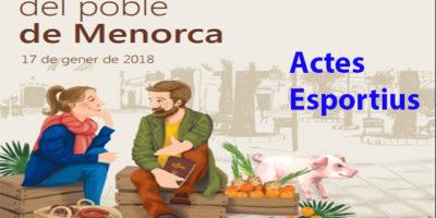 Cartell Sant Antoni-Actes esportius