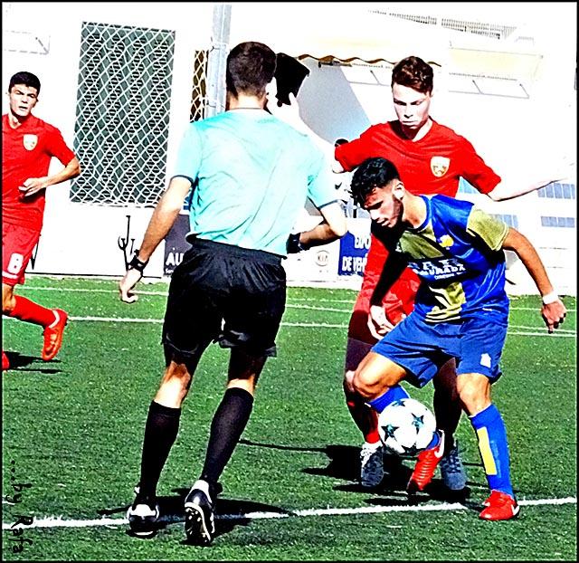 Futbol LNJ 17-18 UD Mahón- San Francisco