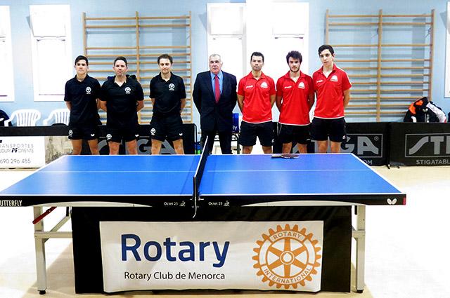 Rotary Menorca CTT Sant Lluís - CTT Olot