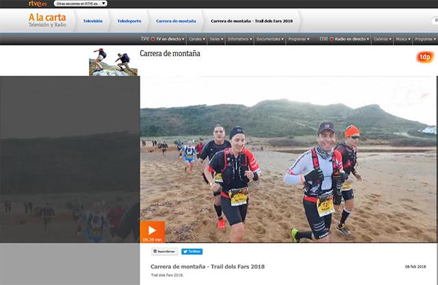 Caratula video Trail des Fars