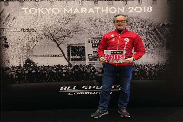 Luis José Salóm (Tokio