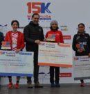 María Pallicer segunda en15km Valencia