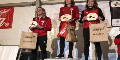 Podium Tina Ameller-Maria Fiol Formentera All Trail Round