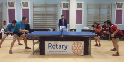 Rotary Menorca-C.T.T. Sant Lluís ante T.T. Torelló por