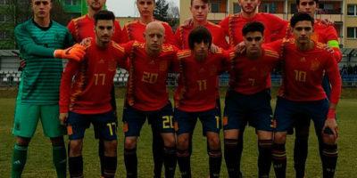 Xavi Sintes-Selección Española sub-17