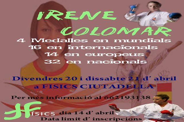 CARTELL Irene Colomar-Físics