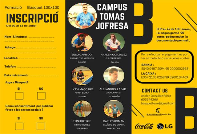 Cartell Campus Jofresa-CB Ferreries