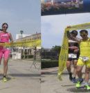 Maria Arguimbau y Xavi Villalonga se imponen en la V Duatlô Son Bou