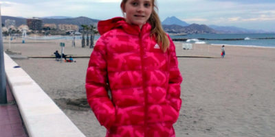 Laura Anglada- balear escolar sub 15 de bádminton