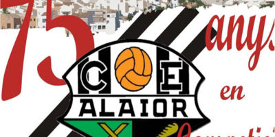 Logo 75 aniversari CE Alaior