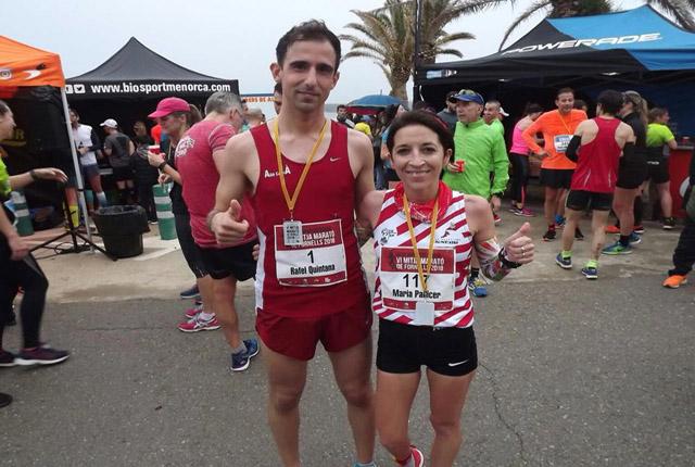 Rafel Quintana y María Pallicer-Mitja Marató Fornells