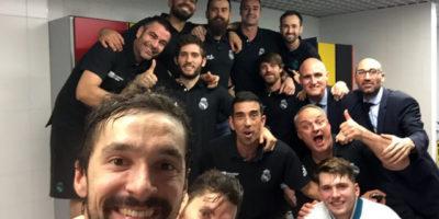 Sergio Llull-Selfie hacia la Final Four Eruliga