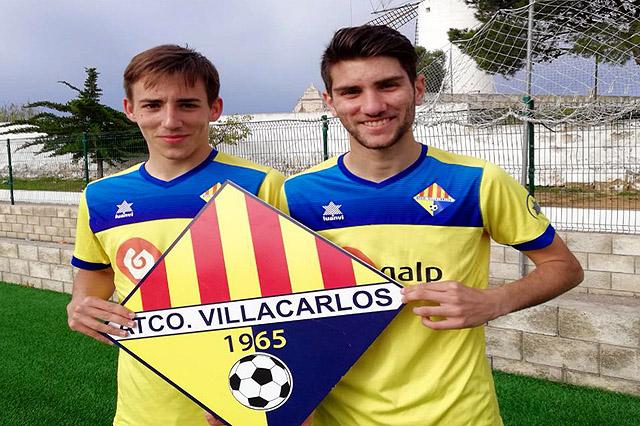 Simón Vidal y Adri Mercadal, del At Villacarlos fichan por el Mallorca