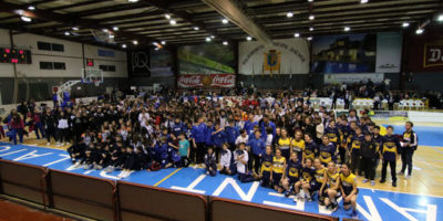 Torneig Ciutat d'Alaior bàsquet base-Entrega Trofeos