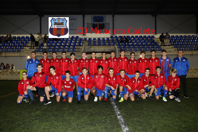 CD Menorca Cadete 2017-18