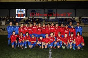 CD Menorca Infantil A 2017-18