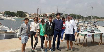 Equip Optimist-Club Nautic Ciutadella