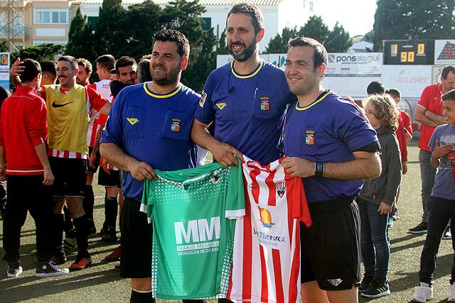 Fútbol 3ª 17-18 CE Mercadal-Son Cladera (Permanencia)