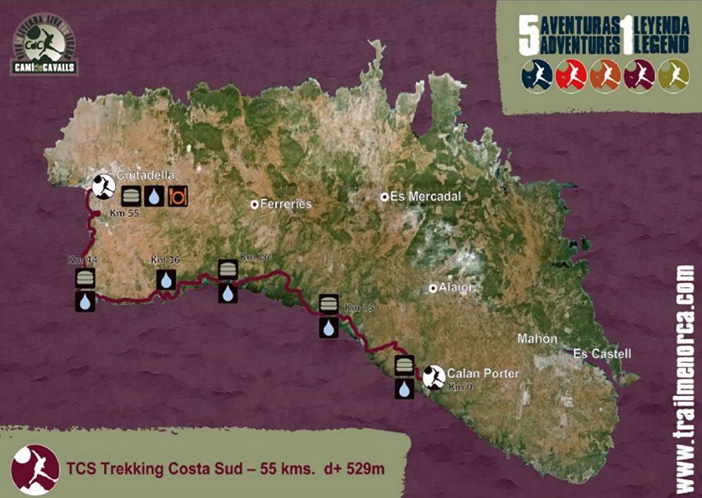 Mapa3 Compressport Trail Menorca CdC