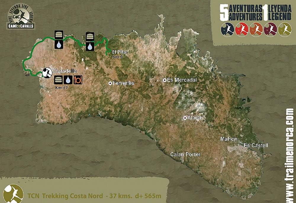 Mapa4 Compressport Trail Menorca CdC