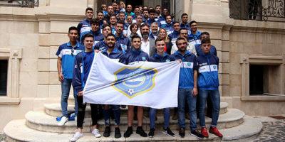 Recepció Ajuntament de Mô a Sporting de Mahón (Regional i juvenils)