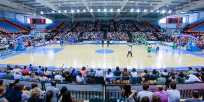 Bàsquet Menorca - Vista aficionados pista