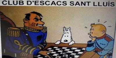Cartell Escacs Sant Lluís