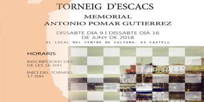 Certell Memorial Antonio Pomar