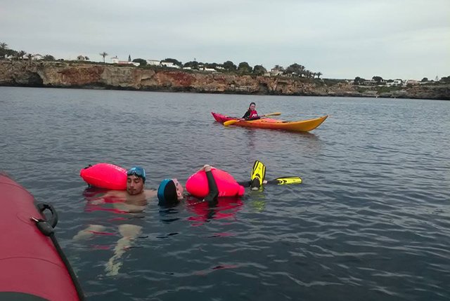 Nedador CN Ciutadella Joan López-Volta a Menorca