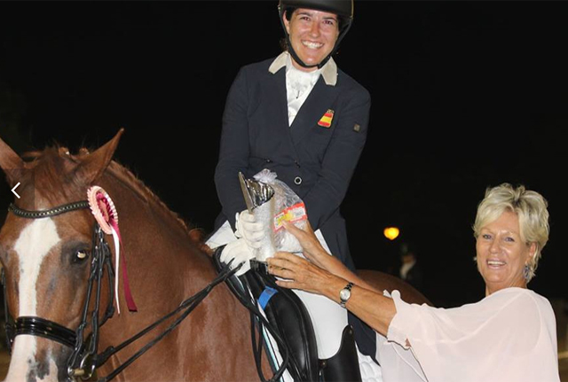 Cristina Torrent, campeona de Balears de doma clásica