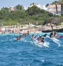 Santandria acull sa primera prova des Campionat de Menorca de piragüisme de fons