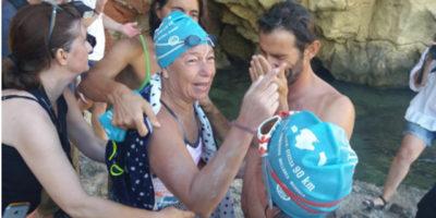 Tita llorens- consigue reto unir Peninsula y Eivissa