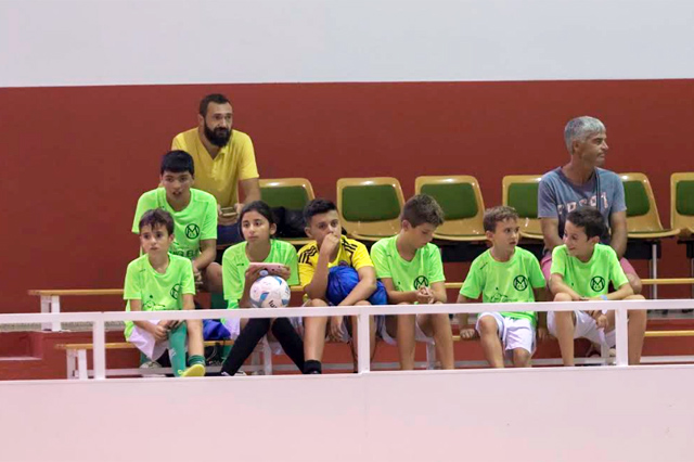 primer Campus Miguelín de futbol sala
