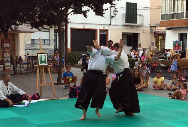 10a exhibició d'Aikido de Sant Llorenç2018