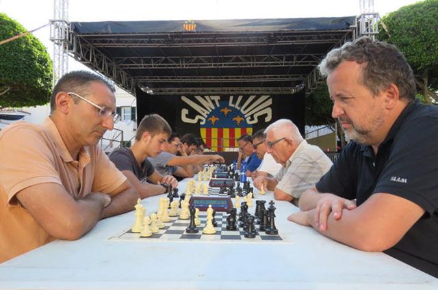 Ajedrez-Blitz Sant Lluis2018