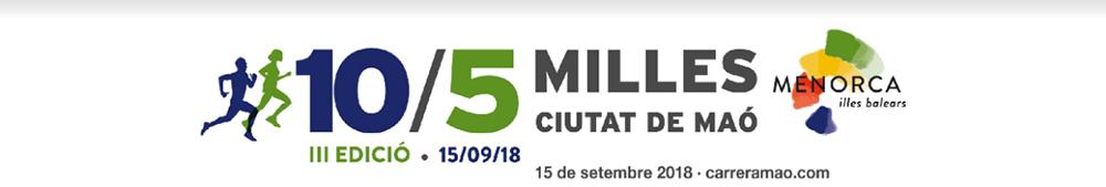 Cabecera 10-5 Milles Ciutat de Maó