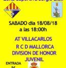 El Mallorca de División de honor visita al At. Villacarlos