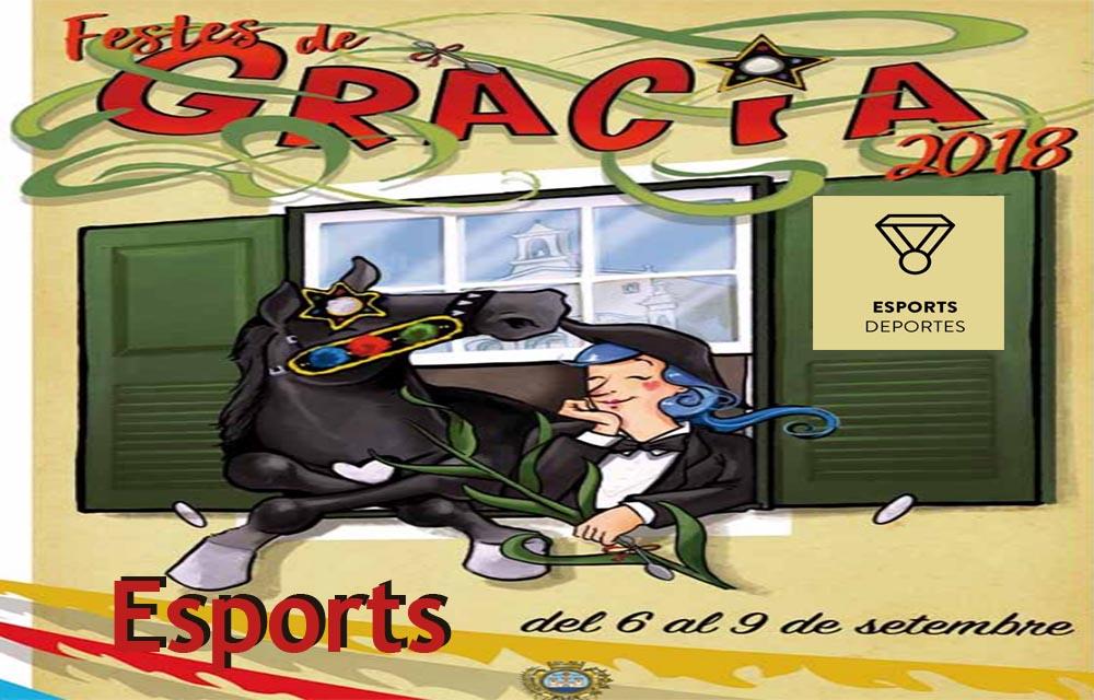Festes de graàcia Esports