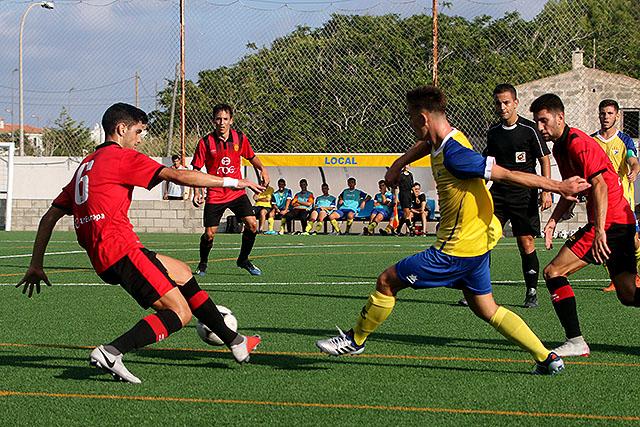 Futbol ATVillacarlos-Mallorca Amistos jv