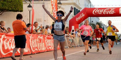 Maria Pallicer-guanyadora Cursa Popular Sant Lluís 2018