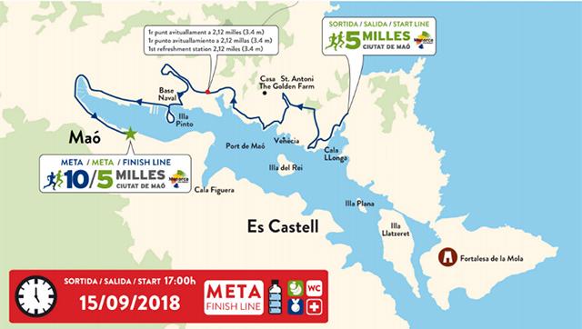 Mapa 10-5 millas Ciutat de Maó2