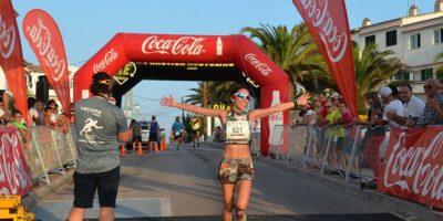 Maria Pallicer-guanyadora Cursa Popular ´Cala'n Porter 2018