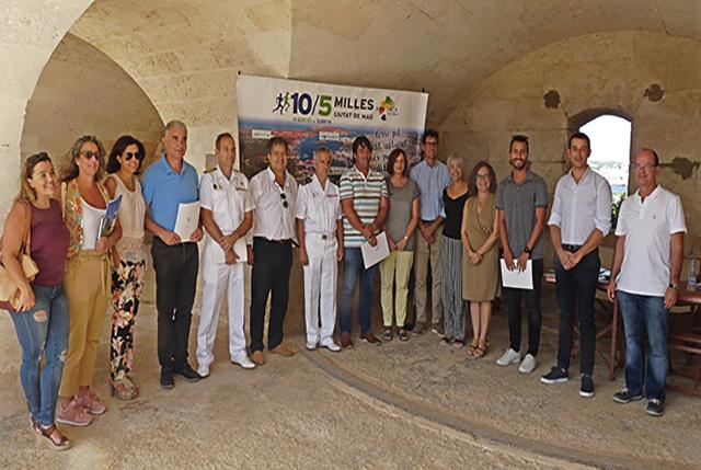 Patrocinadores 10-5 Milles Ciutat de Maó