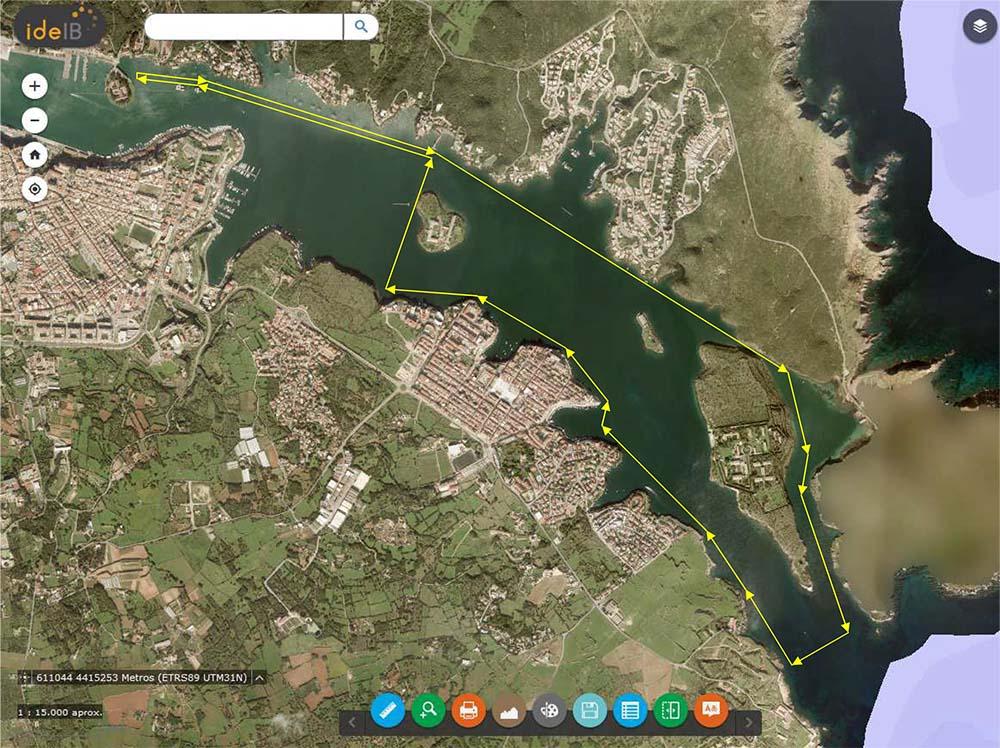 TRAVESIAS 10 km - 6 km-Plano-travesias-llarga-I-Travesia-Sol-Naixent
