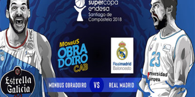 Poster Sergio Llull-Obradoiro Supercopa