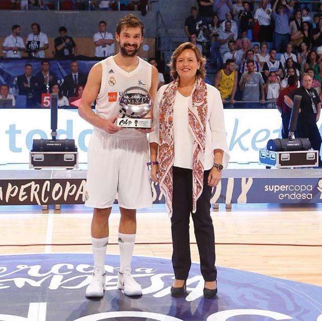 Sergio Llul-MVP Supercopa