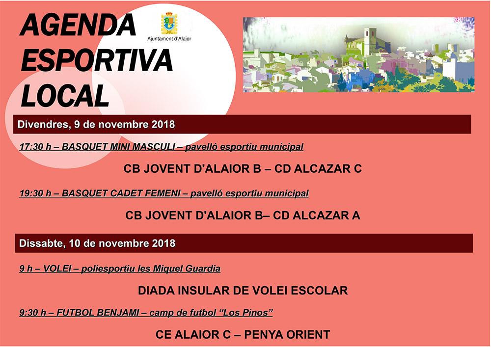 Agenda Esportiva Local d'Alô