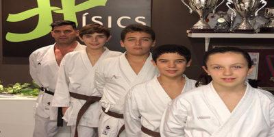 Físics present Nacional Karate